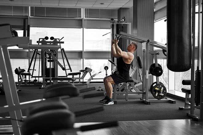Poignées et barres de musculation