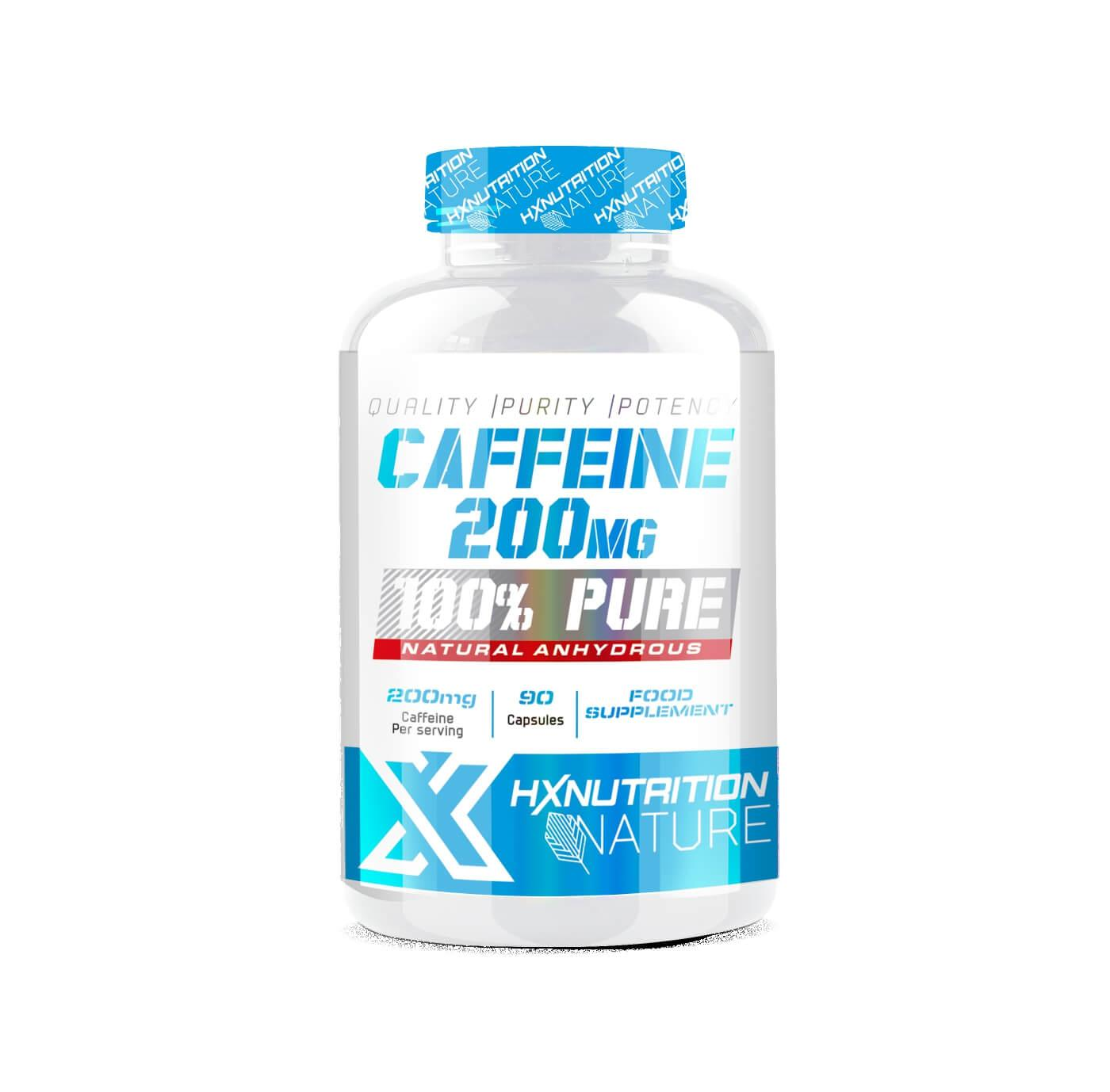 Pot de Cafeine HXNutrition en poudre