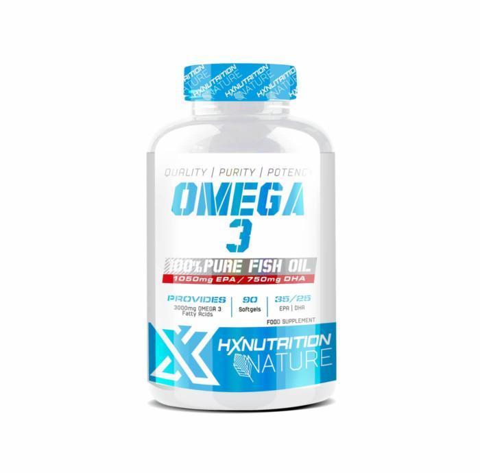 pot de omega 3 Hx Nutrition